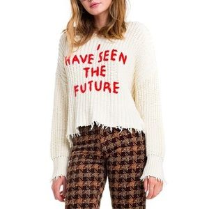 Wildfox I Have Seen The Future Sweater XS